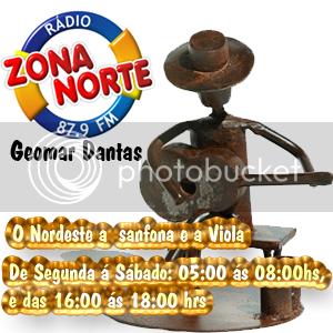 Geomar Dantas,apresentador do programa: O Nordeste a sanfona e a Viola