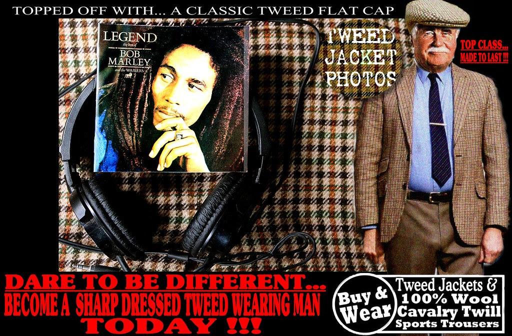 Bob Marley Wearing Hat