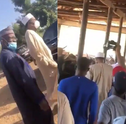 Nigerian's react to video of President Buhari visiting his cows hours after students were abducted in Katsina