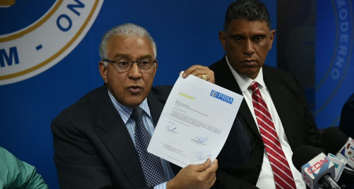 PRM somete recurso de revisión ante la JCE sobre conteo electrónico de votos