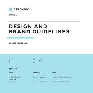 brand manual guide square  egotype issuu