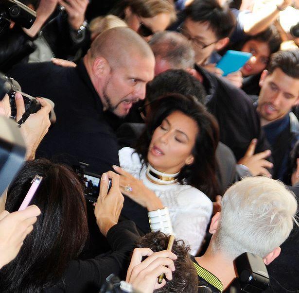 Image result for kim kardashian attack