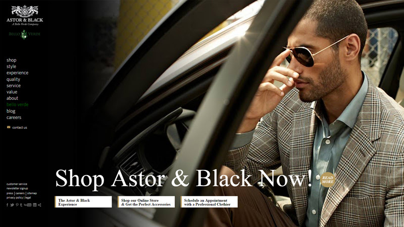 astor and black website custom tailor