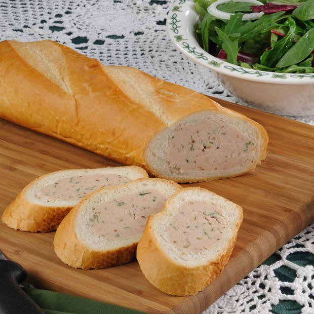 Ham Salad Stuffed French Bread | Nueske's Recipes | Nueske's