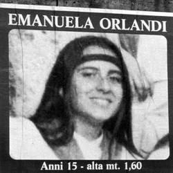 Il poster affisso sui muri di Roma dopo la scomparsa di Emanuela Orlandi nel 1983