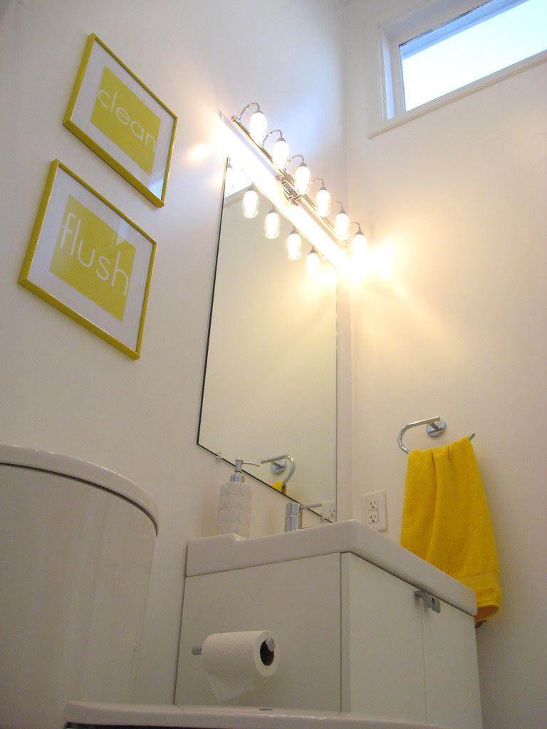 Hall Bathroom - March 2010