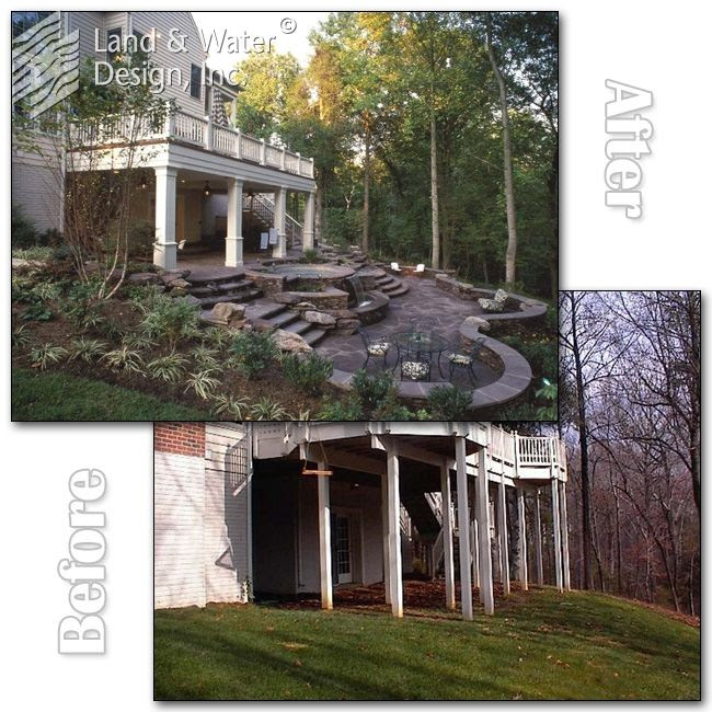 Sloped Backyard Before And After - Ztil News on waterfront backyard ideas, golf course backyard ideas, wooded backyard ideas, backyard landscaping ideas, slope backyard ideas, walkout backyard ideas, wood backyard deck ideas, slate backyard ideas, steep backyard ideas, side backyard ideas, terraced backyard ideas, sand backyard ideas, steel backyard ideas, tilted backyard ideas, landscaping with rock garden ideas, tapered backyard ideas, hilly backyard ideas, uphill backyard ideas, tile backyard ideas, flat backyard ideas,