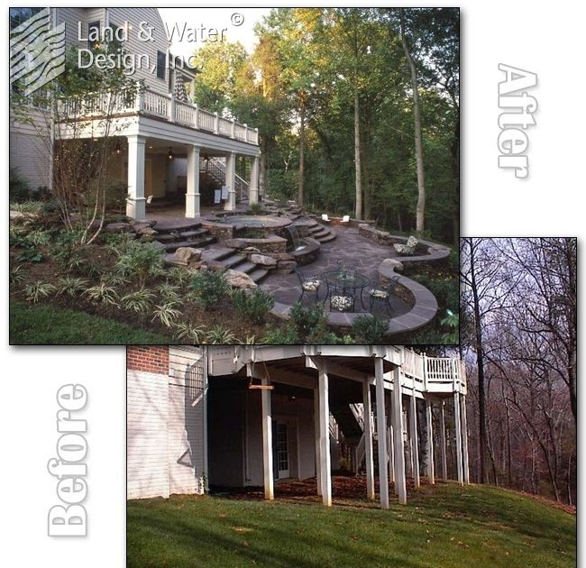 20 Sloped Backyard Design Ideas: Home Decor Ideas: Sloped Backyard Before And After