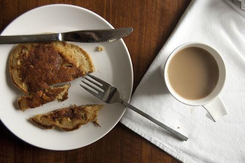 apple-sage-cardamom pancakes