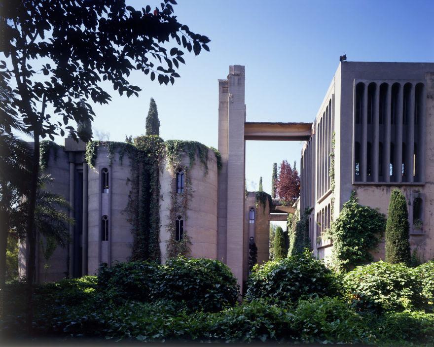 Ricardo Bofill casa personal cemento 2