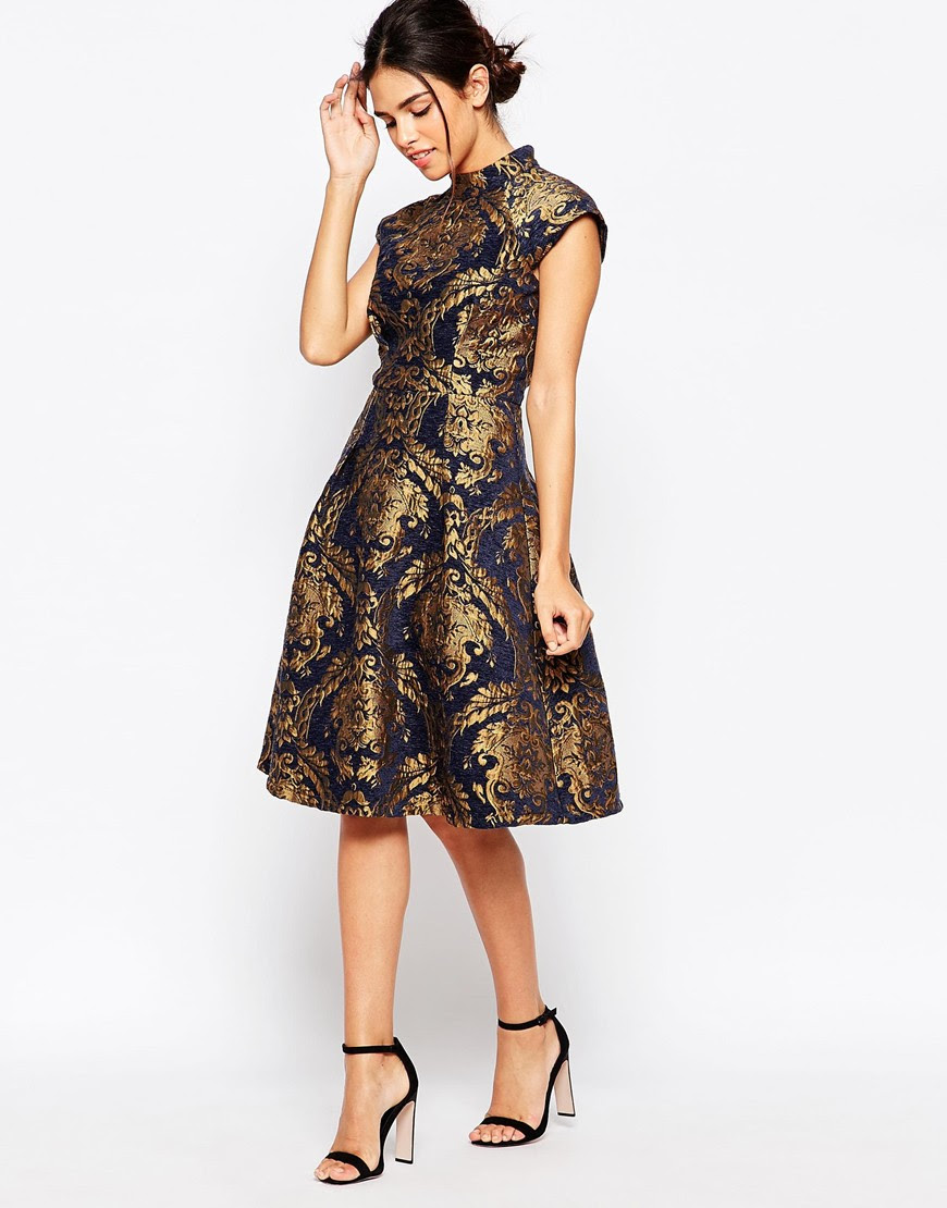 Gold new years eve dresses online