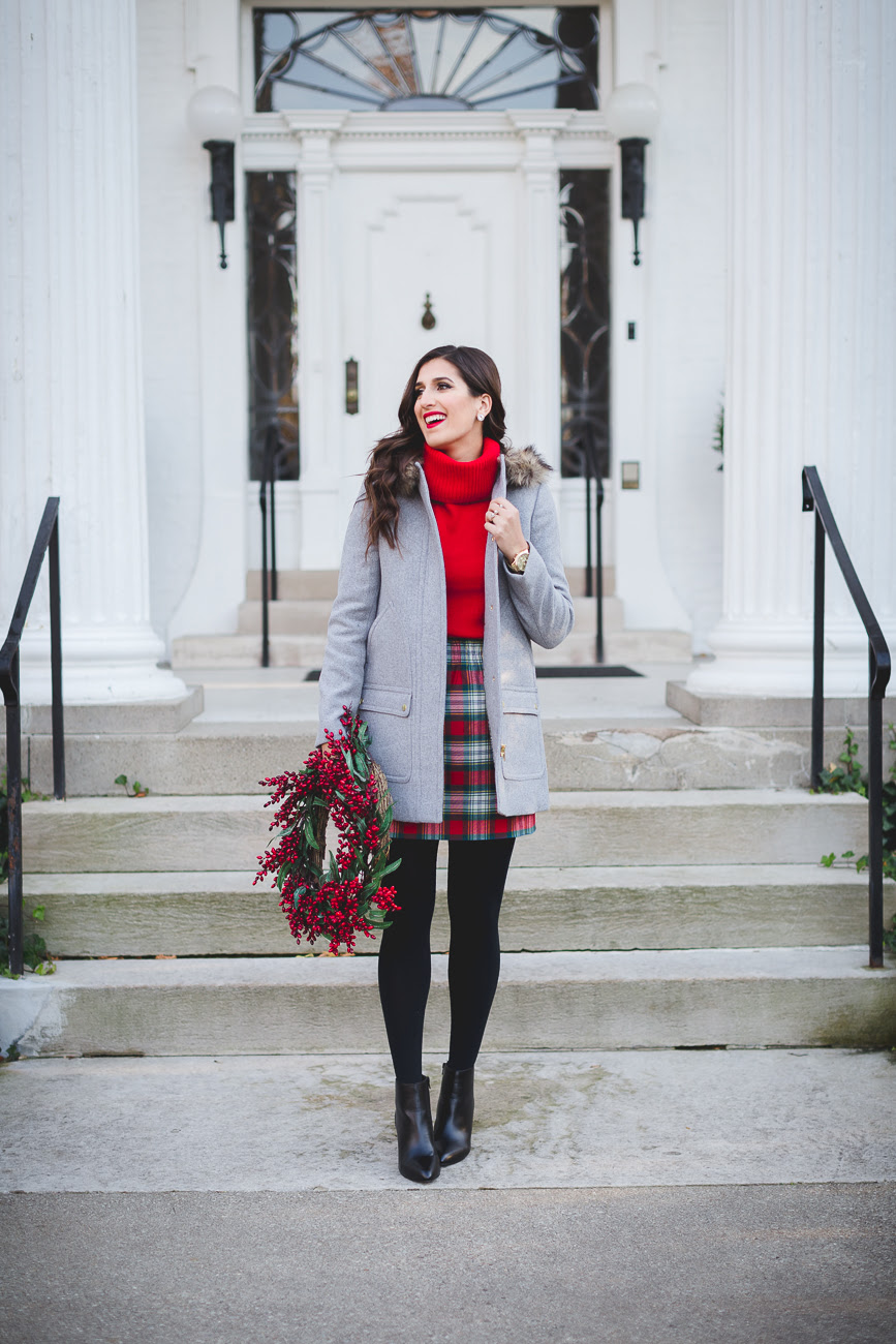 jcrew factory holiday  a southern drawl