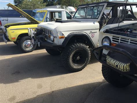 ford bronco bumpers  fast lane truck