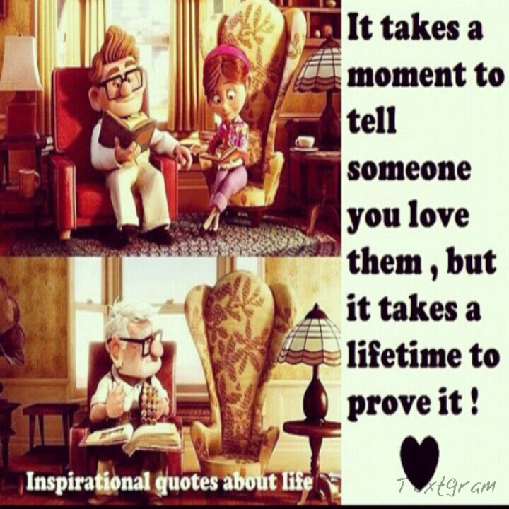 Love Quotes From Movie Up | Love Quotes Images