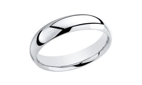 Sterling Silver Wedding Bands   Groupon Goods