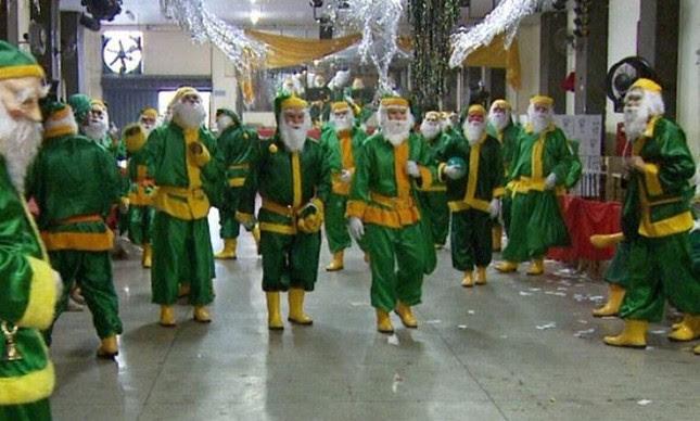 Papai Noel brasileiro  (Foto: Reprodução / EPTV)