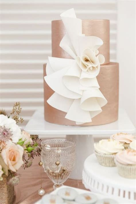 42 Chic Copper And White Wedding Ideas   Weddingomania