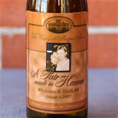 Personalized Wine Labels, Personalized Wine Glasses for