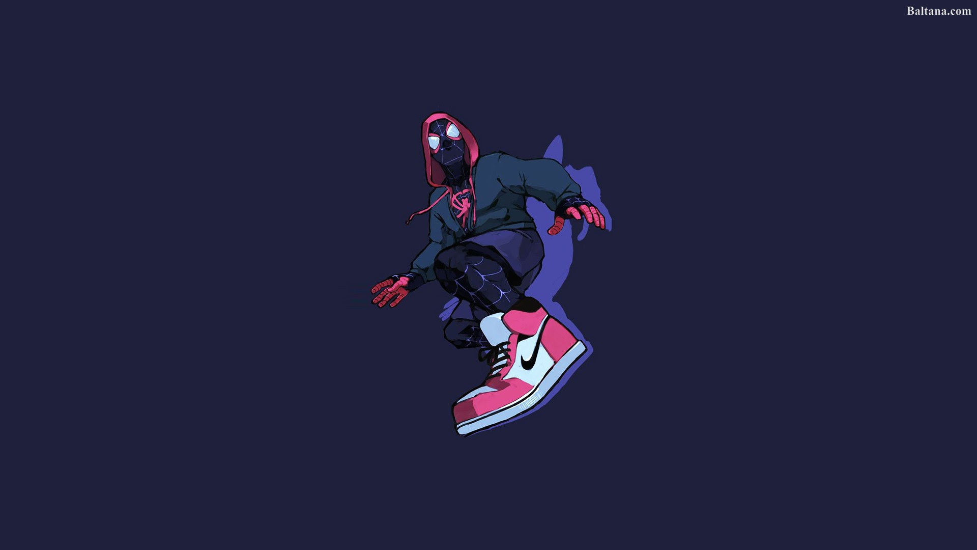 Spiderman Into The Spider Verse HQ Background Wallpaper 29950  Baltana