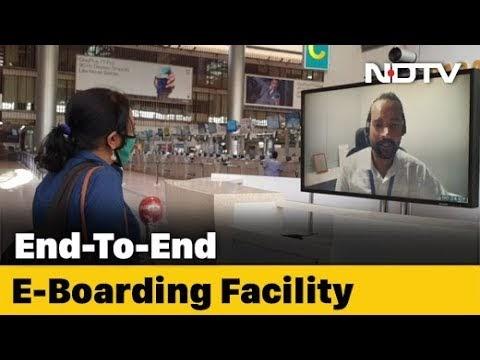 Inside Hyderabad Airport