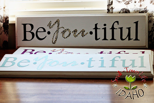 Decoupaged Be-YOU-tiful Gifts