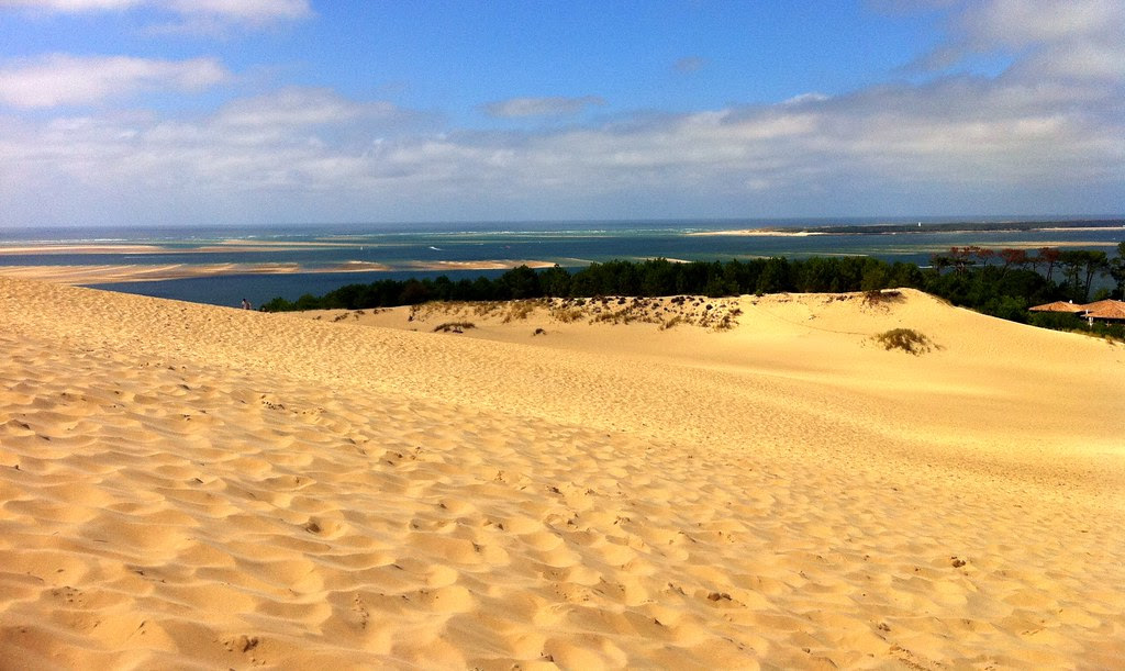 View from The Great Dune of Pyla