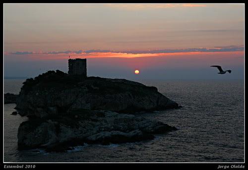 Sunset on Sile, Black Sea