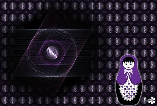 Purple Babushka