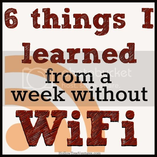 week without wifi
