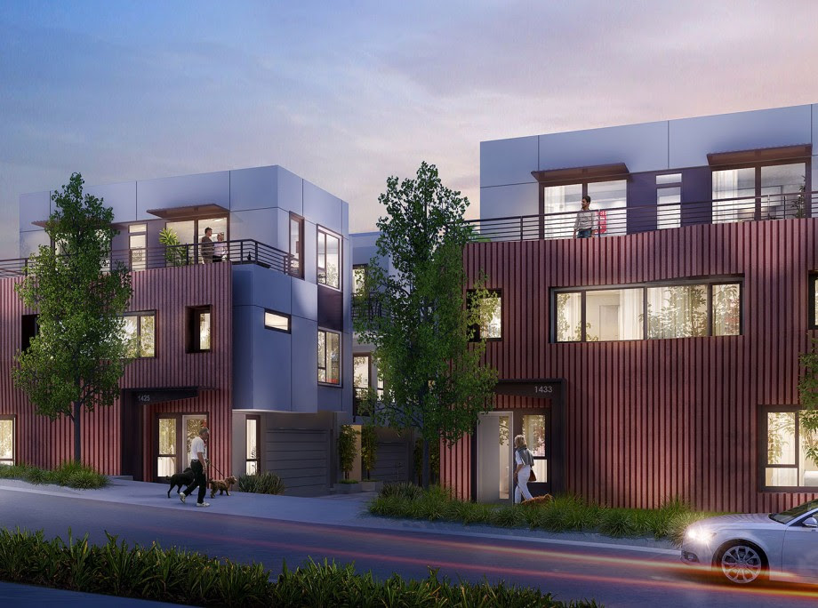 Coming Soon To Silver Lake New Modern Homes With Rooftop Decks And Views Ktgy Architecture Planning
