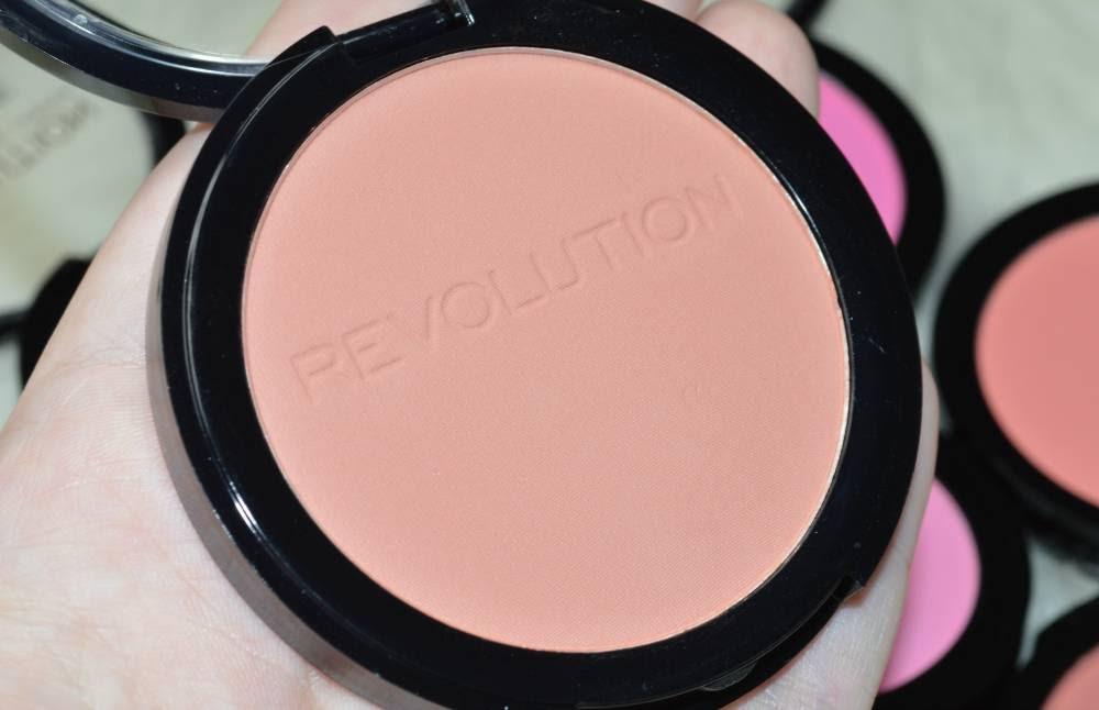 Makeup revolution matte blush swatches