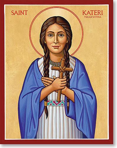 Saint Kateri Tekakwitha, Lily of the Mohawks,