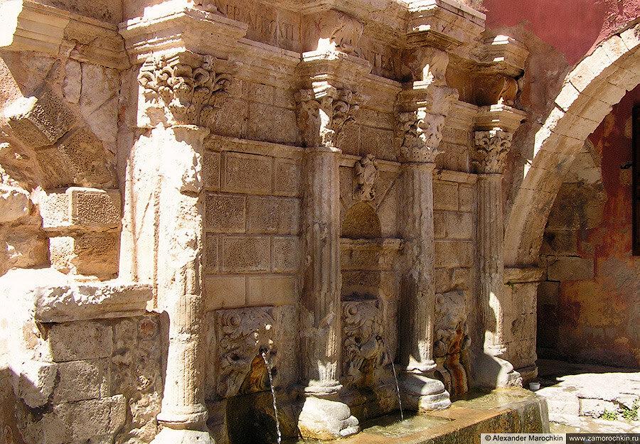 Фонтан Римонди в Ретимно (Крит)