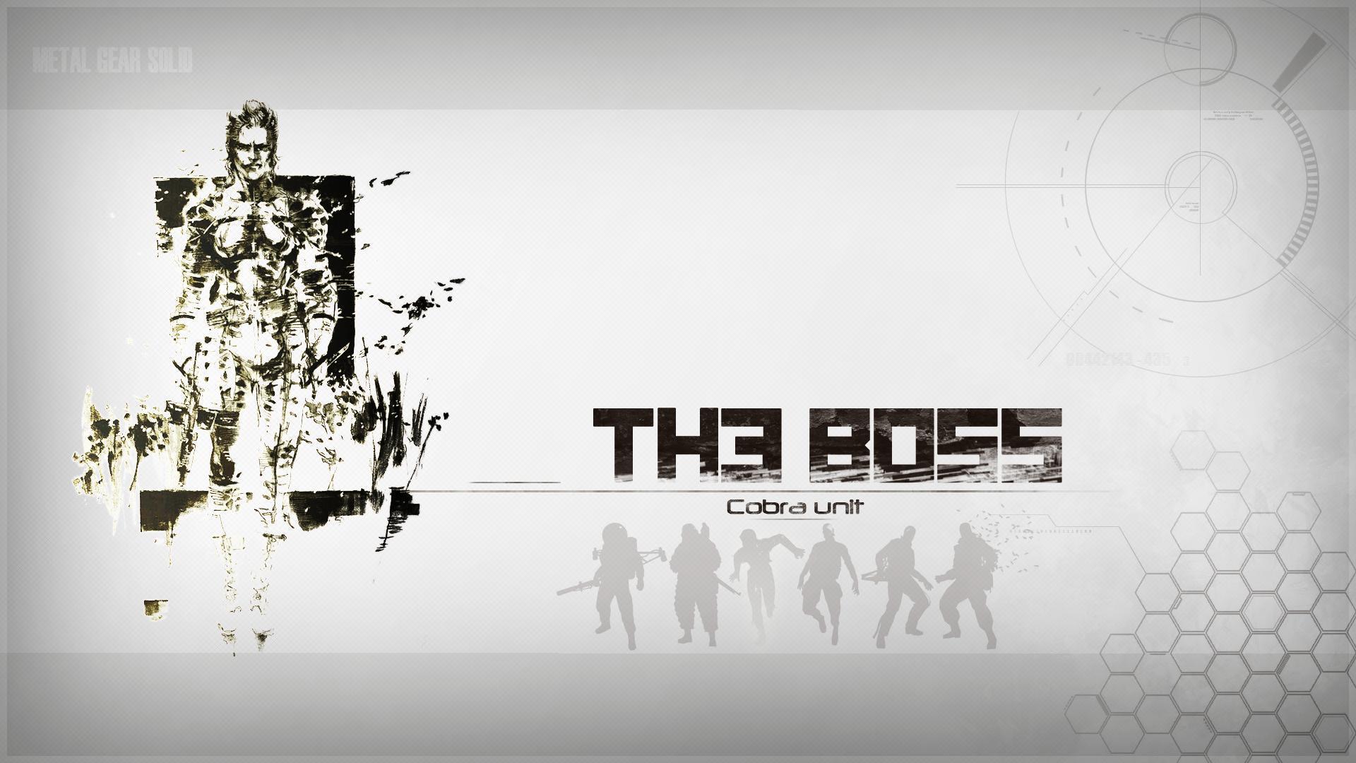 Hd The Boss Metal Gear Solid Wallpaper Download Free 149846