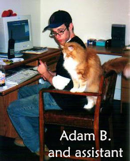 adam bernard and cat
