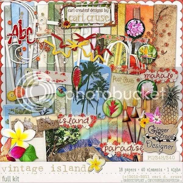 Vintage Island {the kit}