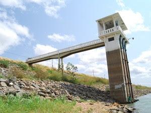 Reservatório Itans, que atende a região Seridó, está com nível de 18,2% da capacidade total (Foto: Sidney Silva)