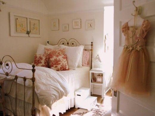 shabby chic girls room