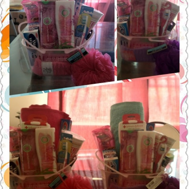 ... College Basket A going away to college gift basket. via lindsi taylor