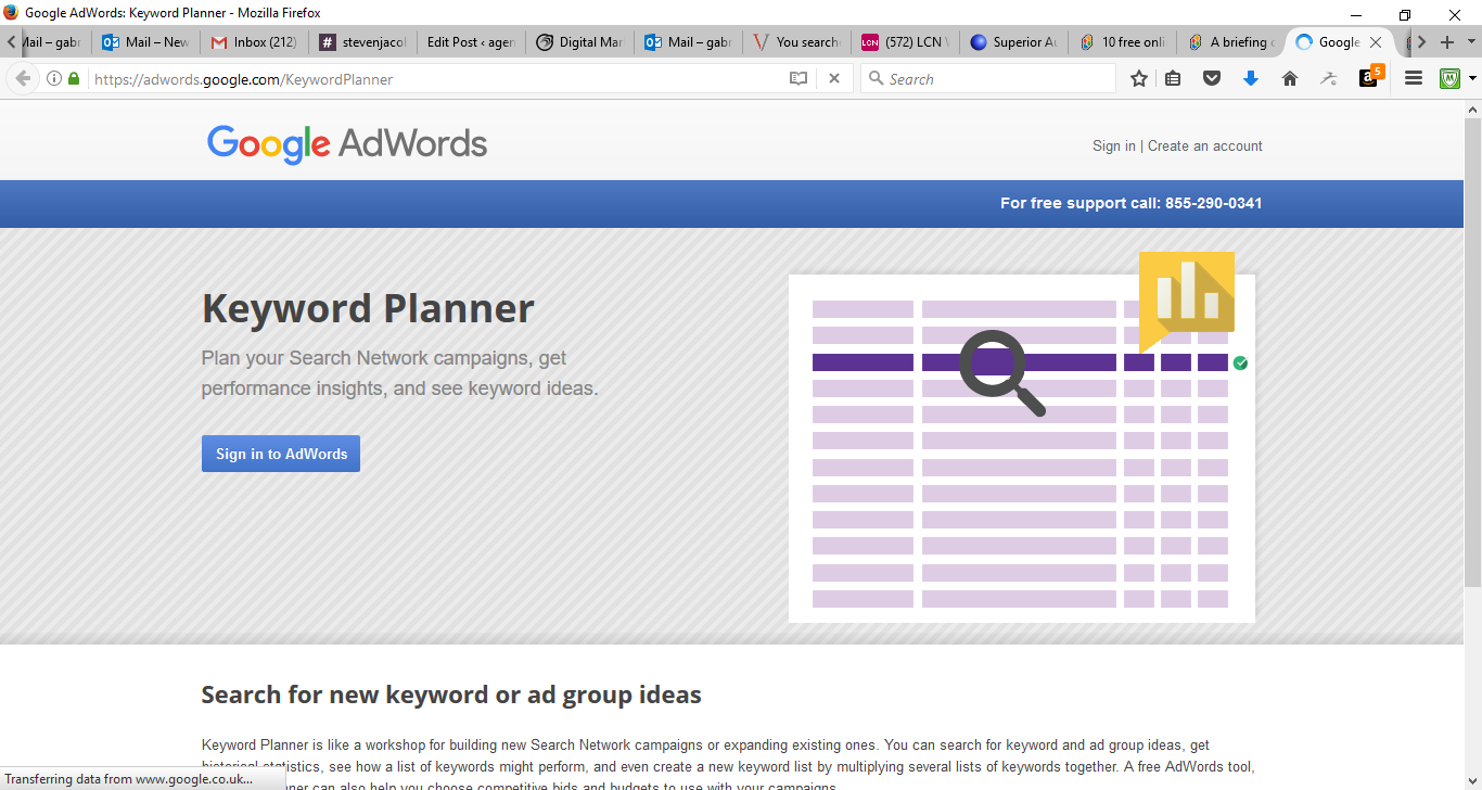50 Free Marketing Tools Any Small Business Can Use - Google Keyword Planner