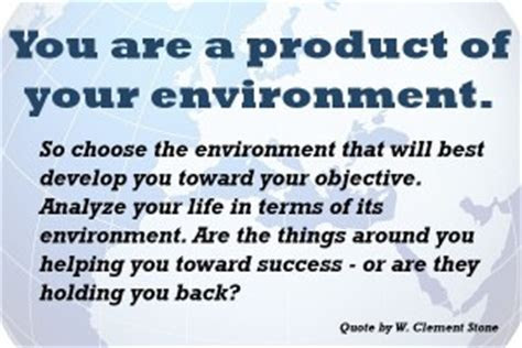 Product Of Your Environment Quotes