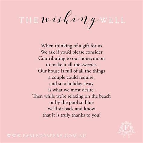 Best 25  Wishing well poems ideas on Pinterest   Honeymoon