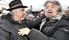 Alberto Perino e Beppe Grillo