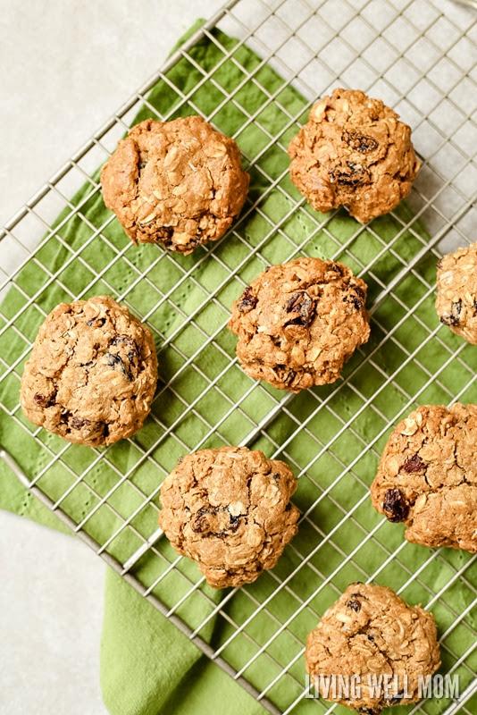 Gluten-Free Dairy-Free Oatmeal Raisin Cookies