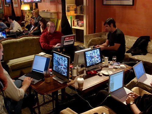 The election night blog party