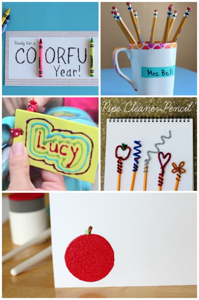 15 Creative Back To School Crafts For Teacher Make And Takes