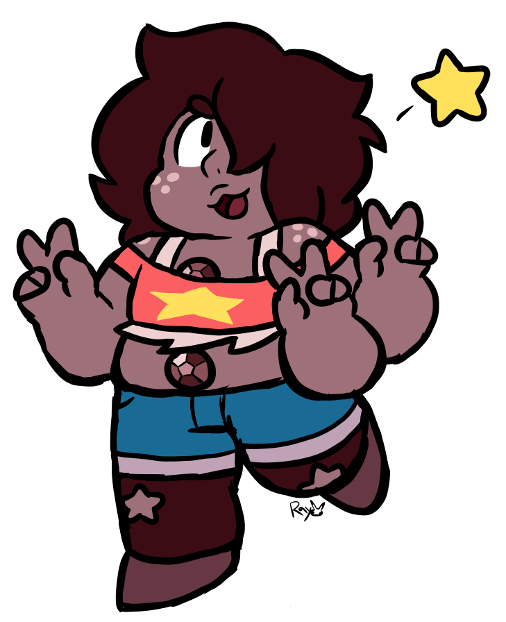 do u ever feel like u were destined to draw a character????? smoky quartz is mine… theyre shaped like a friend