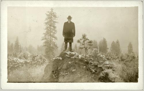 man on a mountain enhanced