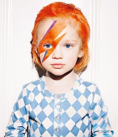 David Bowie inspired! So cute =)