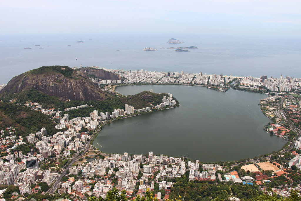 Rio view, brazil, travel, christ the redeemer,